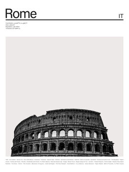 Ilustración City Rome 1