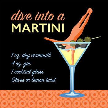 Classic Martini Kunstdruk