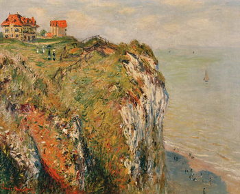 Cliff at Dieppe, 1882 Kunstdruk