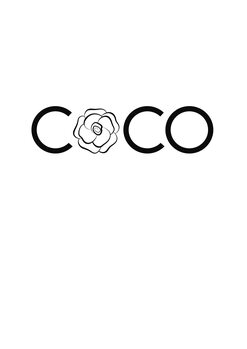 Illustration Coco flower