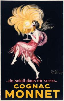 Cognac Monnet, 1927 Reproduction de Tableau