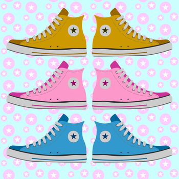 Converse Delight Reproduction de Tableau