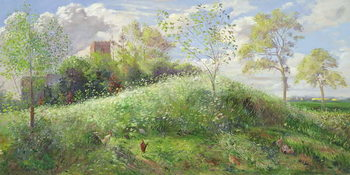 Cow Parsley Hill, 1991 Reproduction de Tableau