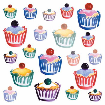 Cupcake Crazy, 2008 Reproduction de Tableau
