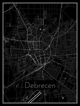 Mapa de Debrecen