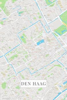 Mapa de Den Haag color