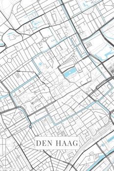 Mapa de Den Haag white