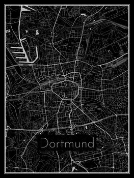 Mapa de Dortmund