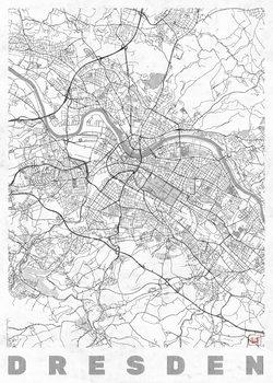 Mapa de Dresden
