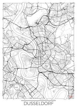 Mapa de Dusseldorf