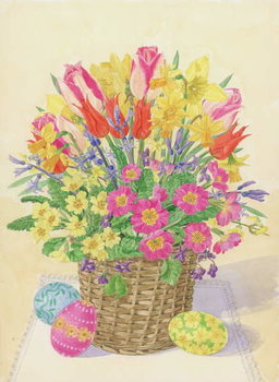 Easter Basket, 1996 Kunstdruck