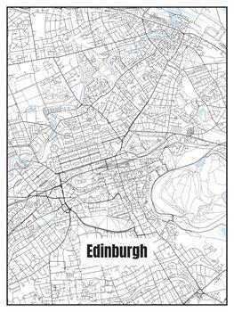 Stadtkarte von Edinburgh