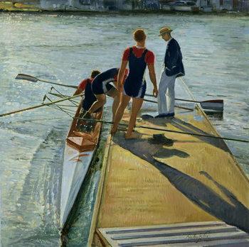 Evening Trial, Henley, 1999-2000 Kunstdruck