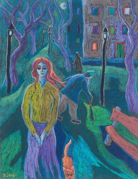 Evening Walk, 2005 Kunstdruk