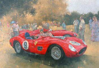 Ferrari, day out at Meadow Brook Obrazová reprodukcia