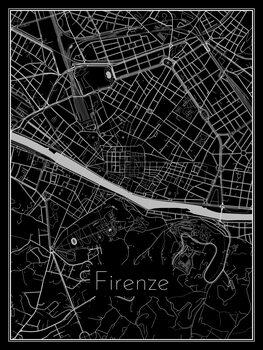 Mapa de Firenze
