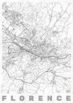 Mapa de Florence