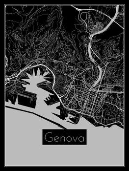 Mapa de Genova