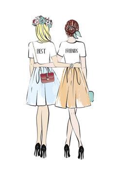 Ilustración Girlfriends