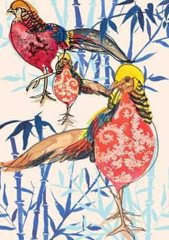 Golden Pheasant, 2013 Kunstdruck