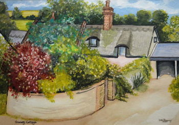 Granary Cottage, 2009 Kunsttryk