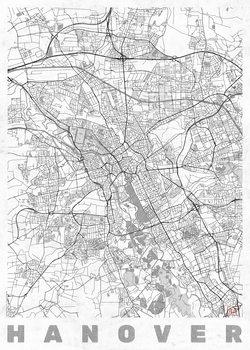 Mapa de Hanover