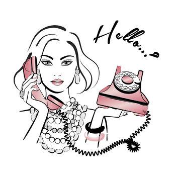 Ilustración Hello