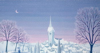 Henri's winter innocence Kunstdruck