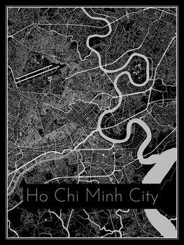 Mapa de Ho Chi Minh City