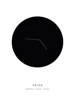 Illustration horoscopearies