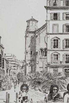 Hotel 5 and Notre Dame Cannes, 2014, Kunstdruck
