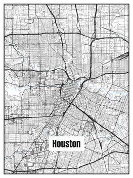 Mapa de Houston