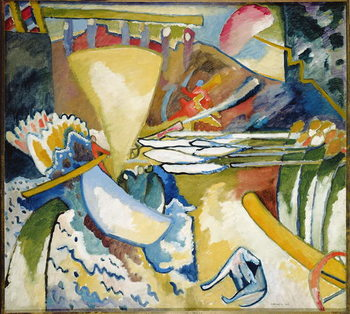 Improvisation, 1910 Kunstdruck