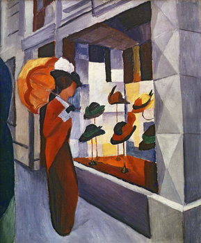 In front of the Hat Shop, 1914 Kunsttryk