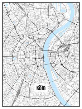 Mapa de Köln