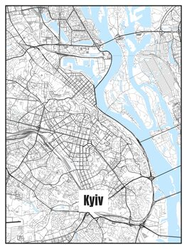 Kort over Kyiv