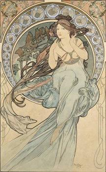 Reproducción de arte La Musique, 1898