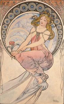 La Peinture, 1898 Kunstdruck