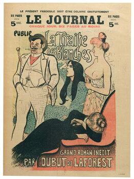 'La Traite des Blanches' Kunstdruck