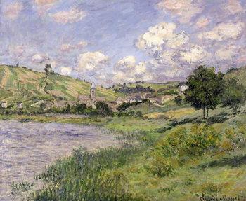 Landscape, Vetheuil, 1879 Reproduction de Tableau