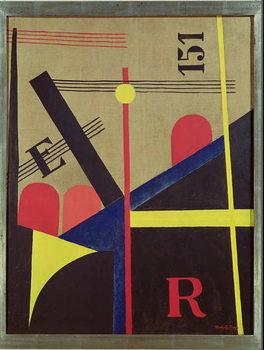 Large Railway Painting, 1920 Obrazová reprodukcia