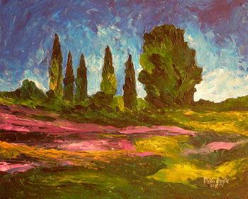Reproducción de arte Lavenders are blooming, 2009