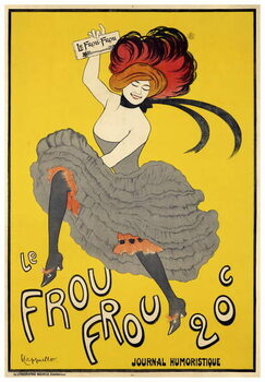 Le Frou-Frou  inaugural issue Reproduction de Tableau