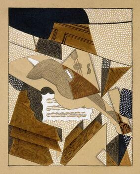 Le Violon, c.1915-1916 Kunsttryk
