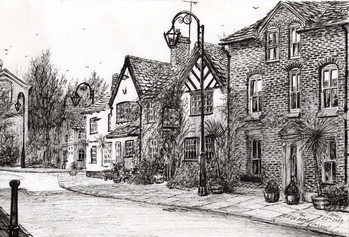 Leigh Arms Prestbury, 2009, Reproduction de Tableau