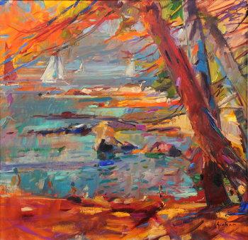 Les Iles de Lerins Kunsttryk