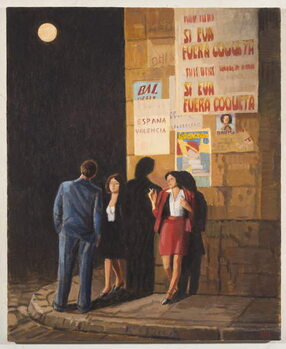 Let the Moon Hang Low Kunsttryk
