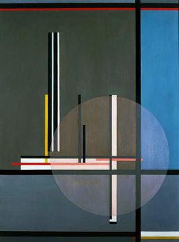 LIS, 1922, by Laszlo Moholy-Nagy , oil on canvas, 132 x 102 cm. Hungary, 20th century. Obrazová reprodukcia