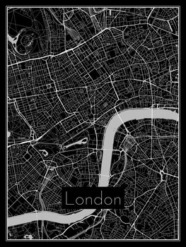 Stadtkarte von London