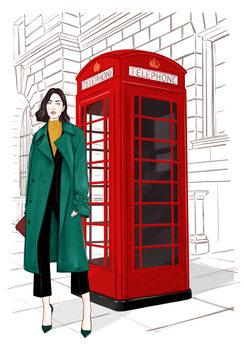 Illustration London Streetstyle